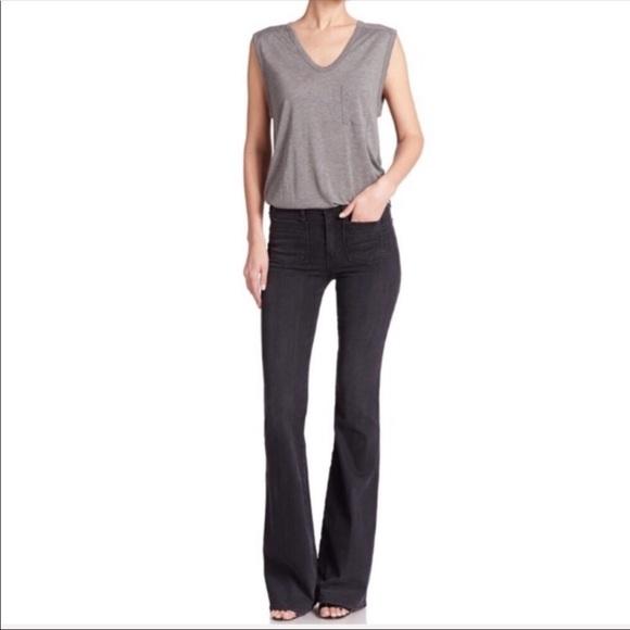 McGuire Denim Denim - McGuire Inez Patch Pocket Black Jeans Size 27